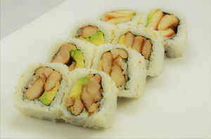 chicken teriyaki roll